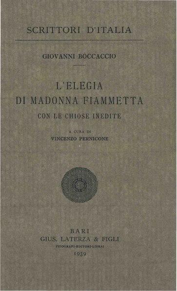 File:Boccaccio, Giovanni – Elegia di Madonna Fiammetta, 1939 – BEIC 1766425.pdf