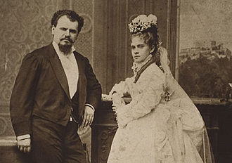 Justo Sierra - Sierra married Luz Mayora in 1874.