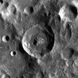 Bart Bok - Bok crater on the Moon