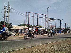 Bolgatanga - Street in Bolgatanga