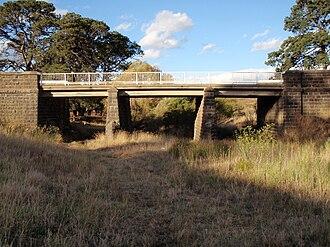 Bolinda, Victoria - The Bolinda Bridge, between Bolinda and Clarkefield