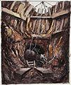 Bomb Disposal - Uncovering a bomb Art.IWMARTLD2872.jpg
