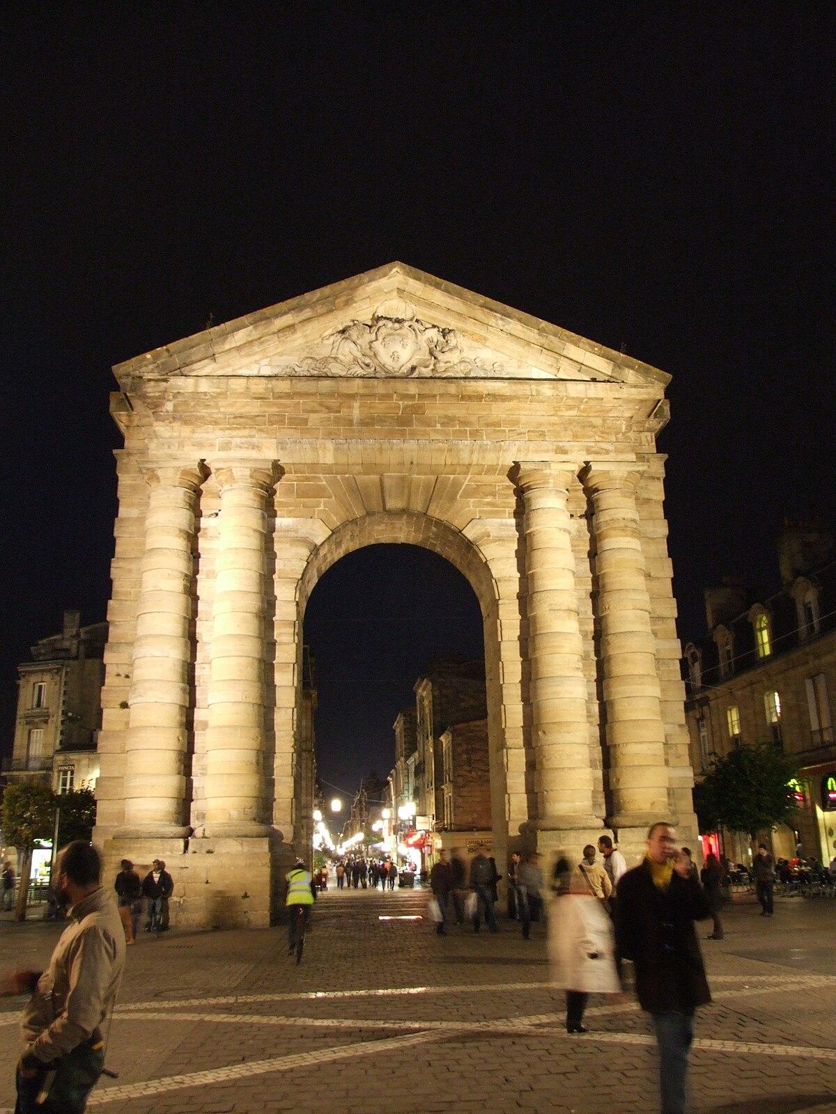 Porte d 39 aquitaine wikip dia for Porte 15 bordeaux