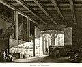 Bottega da ciabattino, bozzetto di Antonio Basoli per L'orbo che ci vede (1812) - Archivio Storico Ricordi ICON011820.jpg