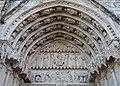 Bourges (18) Cathédrale Saint-Étienne - Extérieur - Portail de la Vierge - 02.jpg