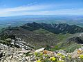 Bozeman, MT from Saddle Peak in the Bridger Mountains, Montana, USA.jpg