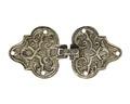 Bröstknäppe av förgyllt silver, 1700-tal - Hallwylska museet - 110399.tif