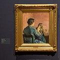 Braiding her Hair - Håret flettes - Christian Krohg - IMG 9795- national gallery oslo.jpg
