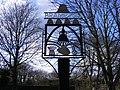 Brampton Village Sign - geograph.org.uk - 1143045.jpg