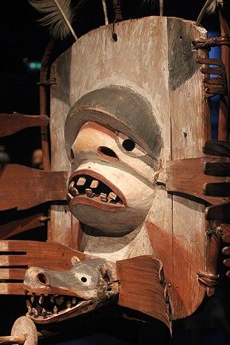 Siberian Yupik - Mask in Musée du Quai Branly