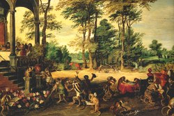 Jan Brueghel the Younger: Satire on Tulpomania