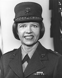 1978 : Margaret Brewer, Marine Corps' First Female Brigadier General