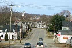 Skyline of Brewer, Maine