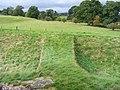 Bridge across moat at Brougham Castle - geograph.org.uk - 1530392.jpg