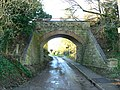 Bridge over Elcot Lane, Marlborough, Wiltshire, facing west - geograph.org.uk - 337275.jpg