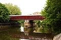 Bridge to Sainsbury's over the River Avon - geograph.org.uk - 2069327.jpg