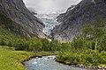 Briksdalselva and Briksdalsbreen, Sogn og Fjordane, Norway, 2013 June - 2.jpg
