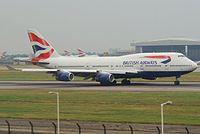 G-CIVG - B744 - British Airways