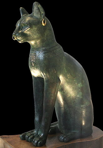 Bastet - The Gayer-Anderson cat, believed to be a representation of Bastet