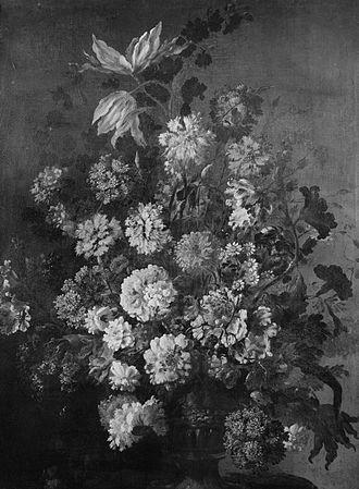 Antoine Monnoyer - Vase of Flowers