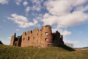 Brough, Cumbria - Image: Brough Castle SE