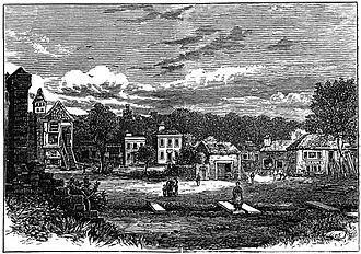 Broughton, Edinburgh - The village of Broughton in 1850