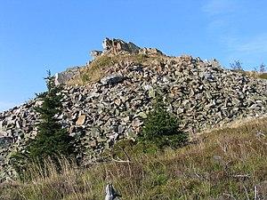 Bruchberg - Image: Bruchberg Wolfswarte