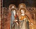 Bruno di giovanni, sante barbara e caterina d'alessandria, san giorgio, 1330 ca. 03.jpg