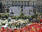 Bucharest, Romania. A great love story. MIHAI I The King of Romania and his wife The Princess Ana de Bourbon- Parma.jpg