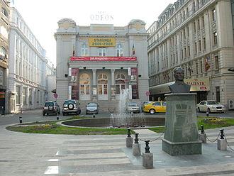 Turks of Romania - Statue of Mustafa Kemal Ataturk, Calea Victoriei, Bucharest