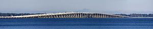 Buckman Bridge - Image: Buckman Bridge, Jaxsonville FL Panorama 1 3667