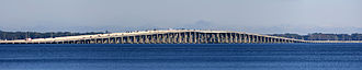 Buckman Bridge - Image: Buckman Bridge, Jaxsonville FL Panorama 1 3667
