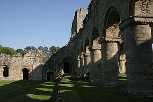 Buildwas Abbey - Image: Buildwas Abbey 2