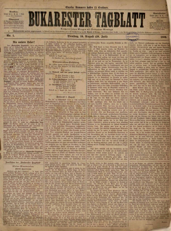 Bukarester Tagblatt 1880-08-10, nr. 001.pdf