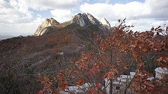 Bukhansan - The three peaks of Bukhansan