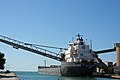 Bulk carrier Captain Henry Jackman, unloading in Goderich, Ontario.jpg