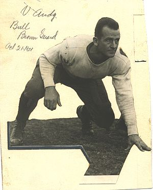 1929 College Football All-Southern Team - Bull Brown.
