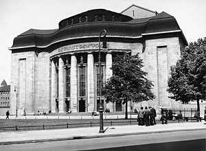 Erwin Piscator - The Volksbühne Berlin, scene of Piscator's early successes as a stage director in 1924