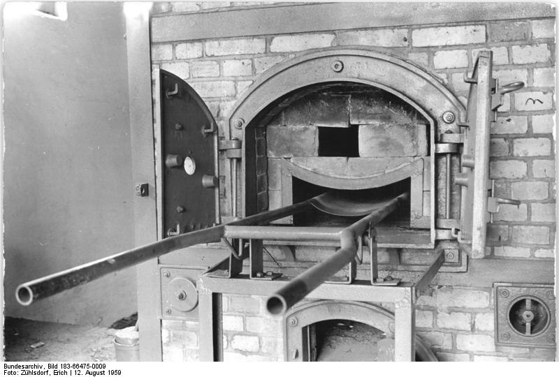 Bundesarchiv Bild 183-66475-0009, Mahn- und Gedenkstätte Ravensbrück, Ofen