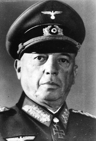 Georg von Küchler - Image: Bundesarchiv Bild 183 R63872, Georg von Küchler