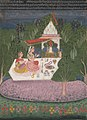 Bundi Schoo - Ragini Bhairavi, an illustration from a Ragamala serie - 1974.91.3 - Yale University Art Gallery.jpg