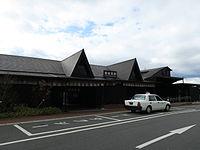 Bungo Mori Station building.JPG