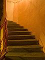 Bunkr Parukářka, schodiště, vzhůru.jpg