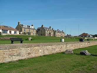 Burghead - Image: Burghead Seafront geograph.org.uk 246847