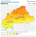 Burkina-Faso GHI Solar-resource-map lang-FR GlobalSolarAtlas World-Bank-Esmap-Solargis.png