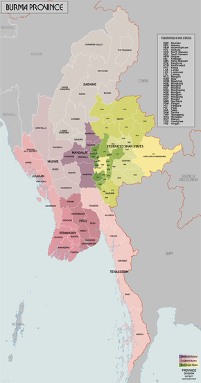 British rule in Burma  Wikipedia
