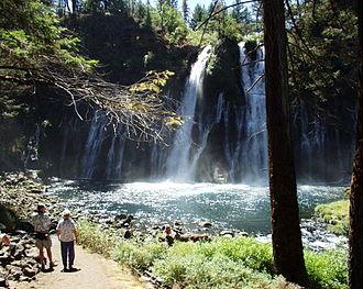 Burney, California - Burney Falls