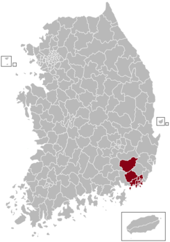 Busan Postal central office precinct map.png