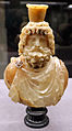 Busto di serapide, 150-200 dc ca., alabastro egiziano.JPG
