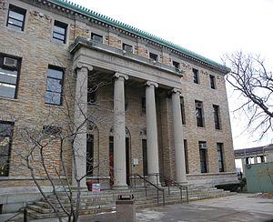Bronx Community College - Image: Bx CC Hall of Philosophy jeh